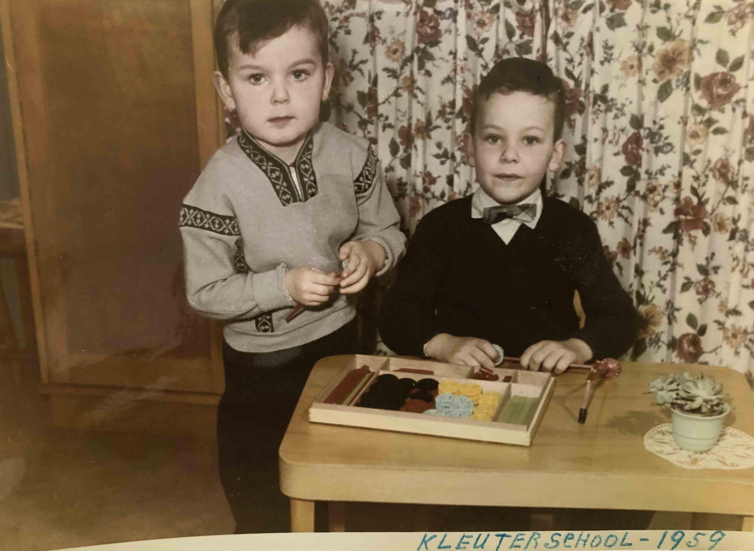 Albert en Gerard Kort