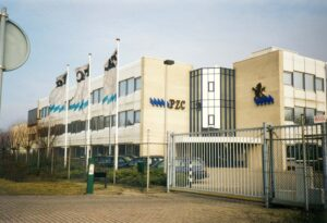 Het nieuwe gebouw van de PZC aan de Oostsouburgseweg in Vlissingen
